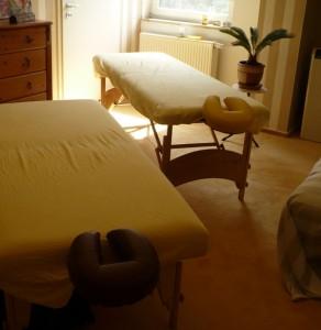 Massage für Paar
